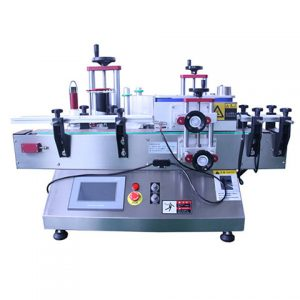 Two Sides Adhesive Sticker Labeller Machine