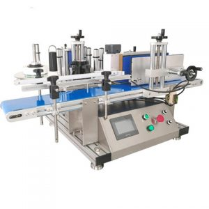 Barcode Top Side Plastic Package Box Labeling Machine