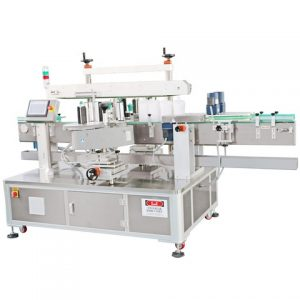 Compact Powder Case Labeling Machine