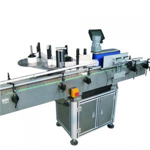 Carton Labeling Machine For Corner Sealing