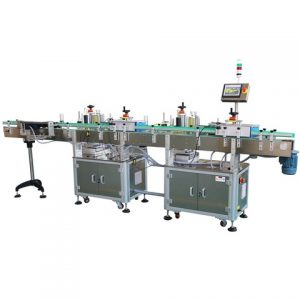 Automatic Plastic Unfolding Box Sticker Labeling Machine