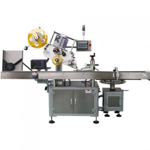 Empty Vacuum Bag Labeling Machine