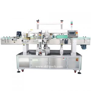 Auto Corn Starch Bag Top Side Labeling Machine