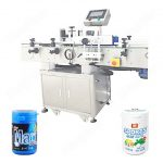 Mayonnaise Can Top Side Labeling Machine