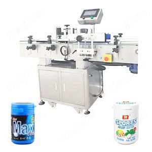 Labeling Machine For Edible Oil Bottle