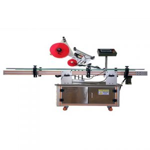 Automatic Whisky Liquor Bottle Adhesive Sticker Labeling Machine