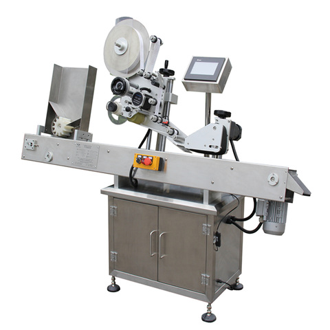Bsc-60 Manual Labeling Machine Carton Box Sticker Labeler Bar...