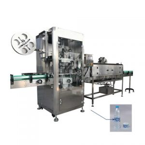 Automatic Round Flat Labeling Machine