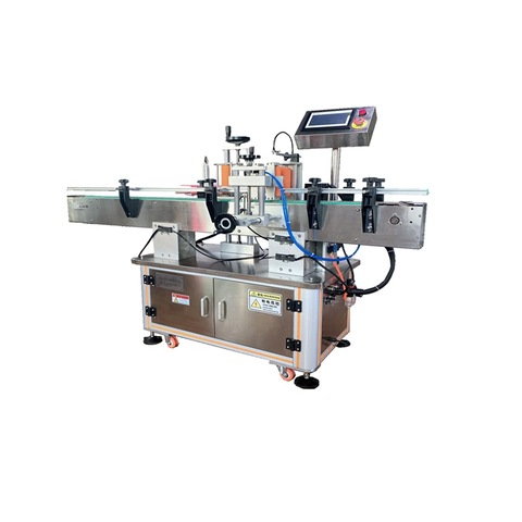 Manual Bottle Label Applicator / Wine Bottle Labeling Machine TB-26.