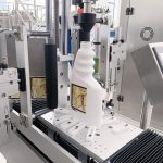 Roll To Roll Round Pet Bottle Labeling Machine