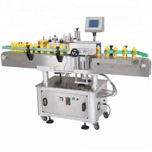 Round Empty Juice Bottle Labeling Machine