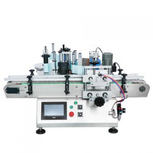 Automatic Flat Package Top Plane Labeling Machine