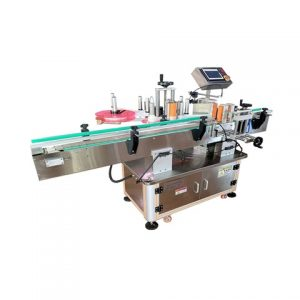 Automatic Big Square Bottle Flat Surface Label Applicators