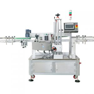 Nail Removal Oil Round Bottle Labeling Machine
