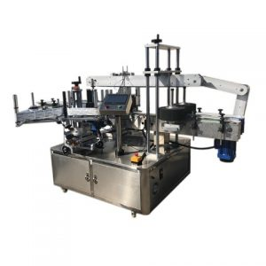 Automatic Bottom And Side Labeling Machine