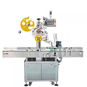 Round Bottle Labeling Machine With Coder For Beverage