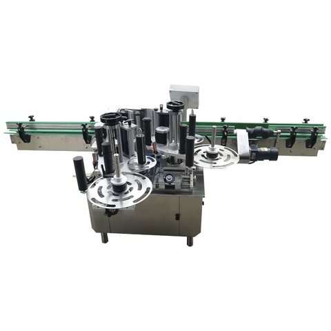 General Used Double-Sided Labeling Machine for Flat Glass Bottle...