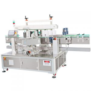 Sachet Package Top Surface Sticker Labeling Machine