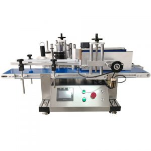 Sticker Top Labeling Machine For Bottle Neck