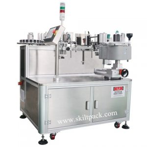 Box Adhesive Labeling Machine