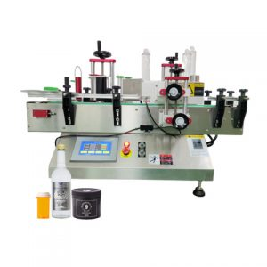 Sticker Oval Bottle Labeling Machine