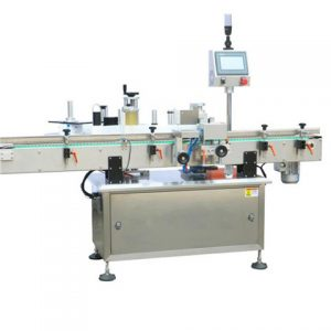 Vertical Wrap Round Bottle Sticker Labeler Labeling Machine