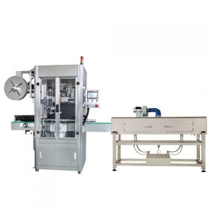 Top Surface Labeling Machine For Vacuum Bag