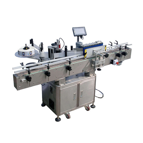 Automatic rotary self adhesive sticker labeling machine...