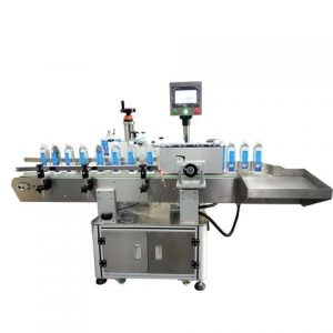 Meat Box Tray Labeling Machine