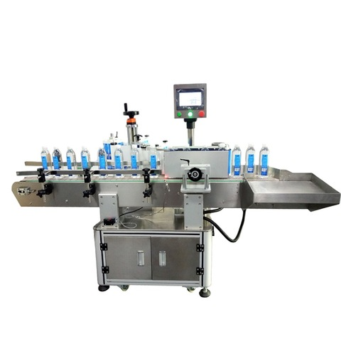 Automatic Wet Glue & Sticker Labelling Combine Machine