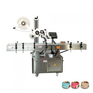 Automatic Label Applicator Plastic Bag Labeling Machine