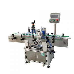 Front Back Side Automtiac Hydraulic Oil Labeling Machine