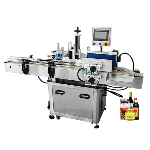 MT-50 Semi-automatic round bottle labeling machine...