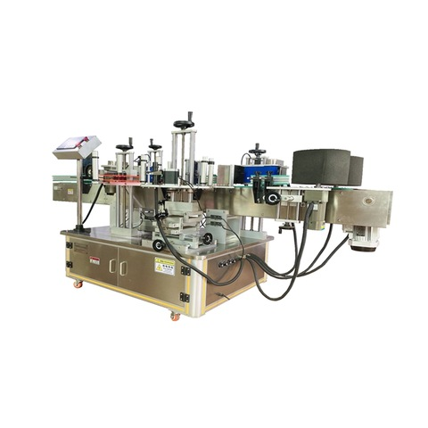 Vertical Bottle Sticker Labeling Machine - Harsiddh