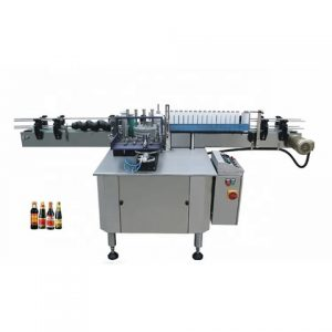 Olive Oil Bottles Label Machine