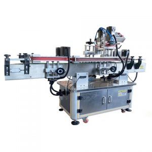 Automatic Vacuum Bag Adhesive Labeling Machine China