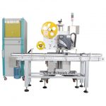 Automatic Blood Collection Tube Label Applicator With Feeder