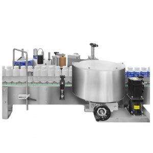 Round Jar Bottle Labeling Machine