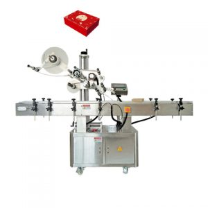 Automatic Adhesive Paint Can Labeling Machine Production Line