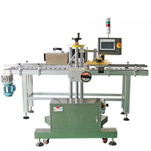 Auto Paging Paper Bag Label Applicator