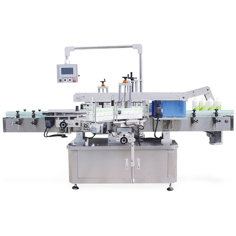 Rotary Bottle Self Adhesive Labeling Machine - Sticker Labellers