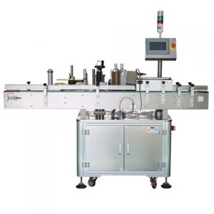 Flat Bottle Tag Machine Top Labeling Machine