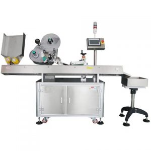 Food Box Top Sticker Labeling Machine