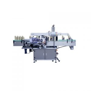Double Sides Sticker Labeling Machine For Round Bottle