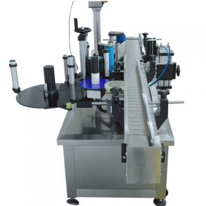 Lid Top Sides Labeling Machine