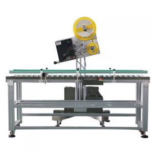 Automatic Doypack Pouch Labeling Machine