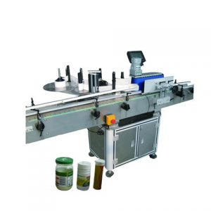 Auto Silicon Label Labeling Machine