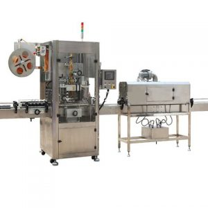 Cone Shape Labelling Machine