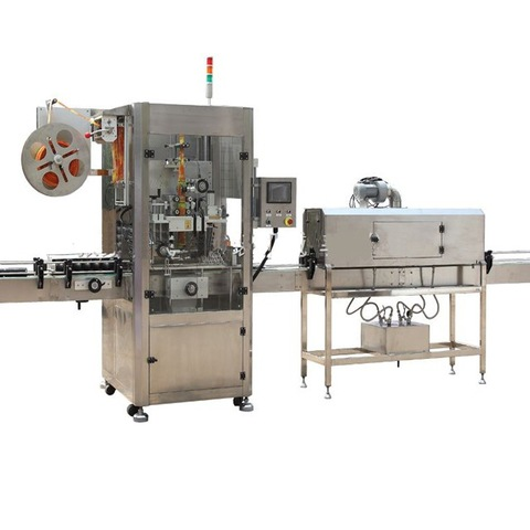 Automatic Round Bottle Labeling Machine with Date printing machine.