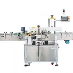 Alcohol Bottle Front Back Labeling Machine